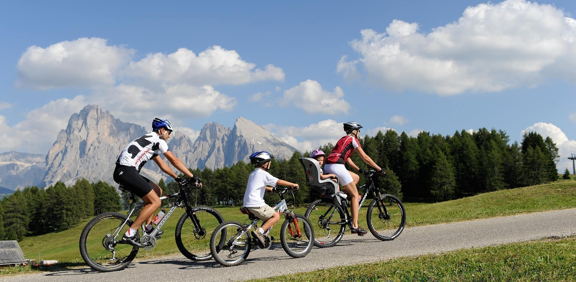 Vacanze mountain bike in Alto Adige