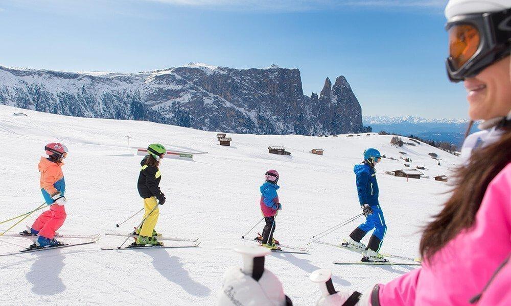 Willkommen im Skigebiet Seiser Alm